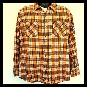 Haband l/s flannel shirt camp ready. Size medium